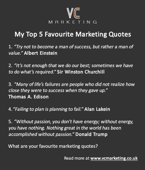 Marketing Quotes: Top 5 Famous Marketing Quotes