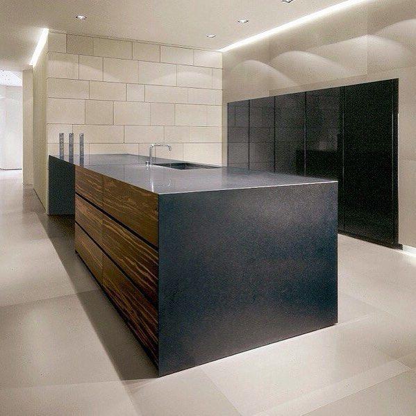 Love the folded metal benchtop!! #kitchenislandporn  #homedesign #lifestyle #style #designporn #interiors #decorating #interiordesign #interiordecor #architecture #landscapedesign by adesignersmind