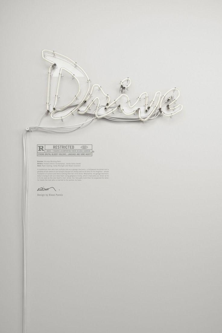 Neon Typography Art by Rizon Parein.