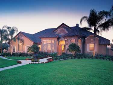 Italian style homes -
