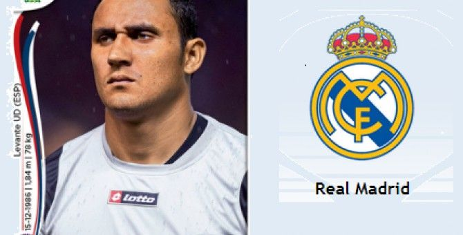 Real Madrid ficha al portero costarricense Keylor Navas por seis temporadas