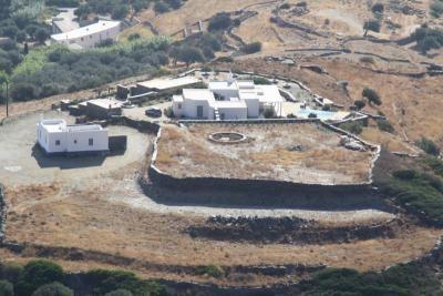 Ancient Kade Tower at Sifnos island Cyclades
