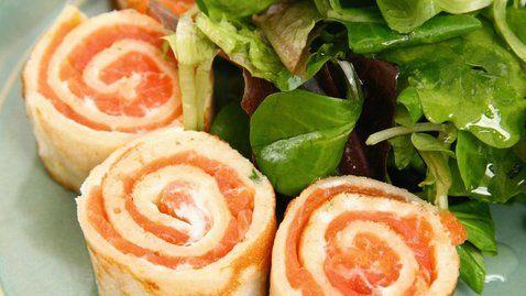 Smoked salmon rolls - RTE Food