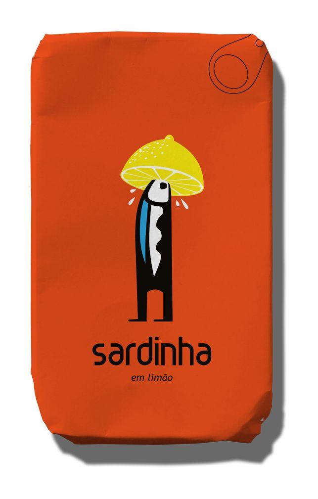 #ABANCADASARDINHA - canned sardines (with lemon) - great Portuguese design #PORTUGAL