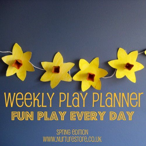 Weekly Play Planner: fun play ideas for every day: Crafts Ideas, Week Plays, Kid Activities, Fun Plays, Kids Activities, Kids Crafts, Plays Planners, Plays Ideas, Learning Activities