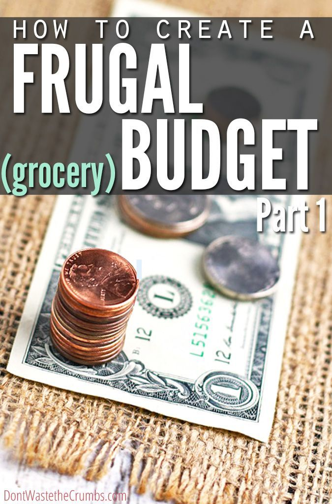 Looking for some extra help with getting your budget under control? Check out my Creating a Frugal Grocery Budget series!