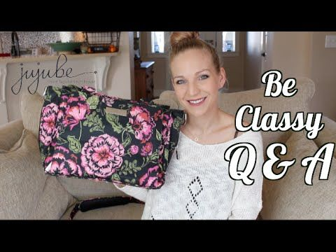 Ju-Ju-Be - BE CLASSY Q & A - all the questions you have about the JuJuBe Be Classy, answered! - YouTube