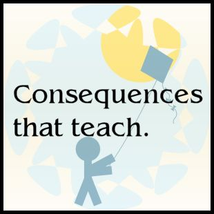 Great list of tips for giving consequences to kids.