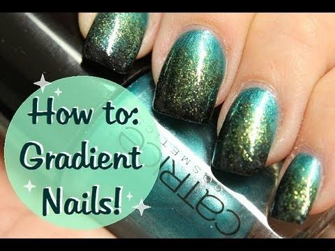 How to: Herfst nagels * Fall Nails gradient