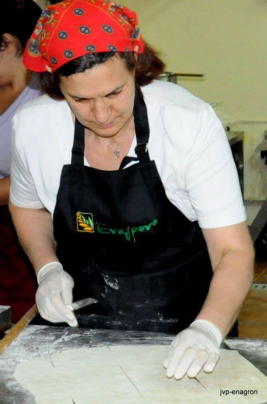 Making pies at Enagron Ecotourism Village