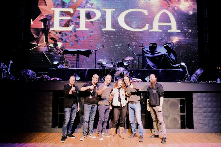 Meet&Greet with Epica. Moscow 24.02.17