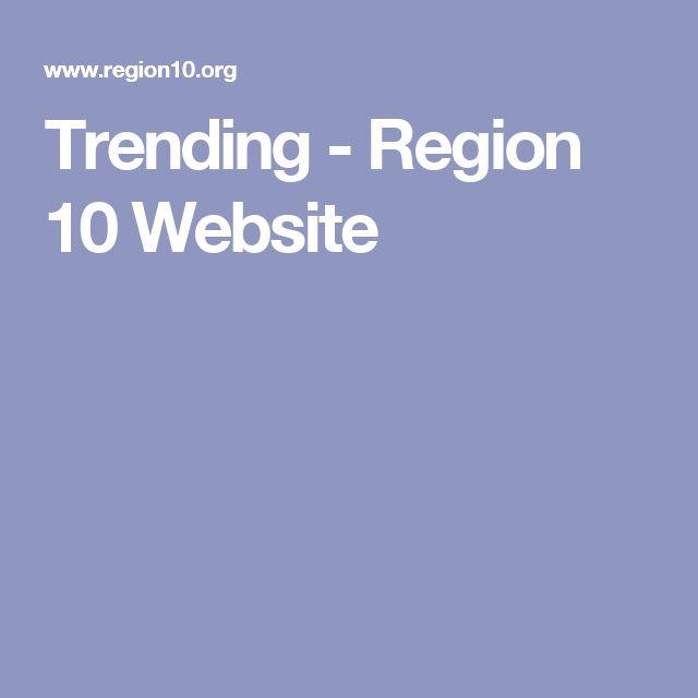 Trending - Region 10 Website