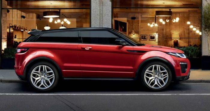 2017 Range Rover Evoque is a compact luxury crossover SUV made by the Land Rover, the division of Tata's Jaguar Land Rover group. Range Rover Evoque was produced by July 2011 3 and 5-door versions, with 2-wheel and four-wheel drive.