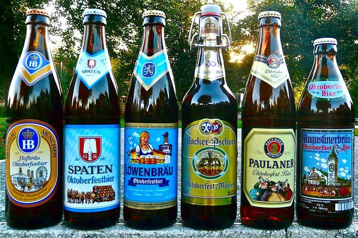 Oktoberfestbier der Münchner Brauereien