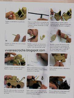 Viviane S Croche & Artes: Carros em Biscuit (cars da disney)