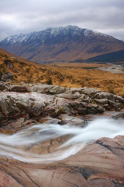 """The Scoop"", Glen Etive in the Scottish Highlands"
