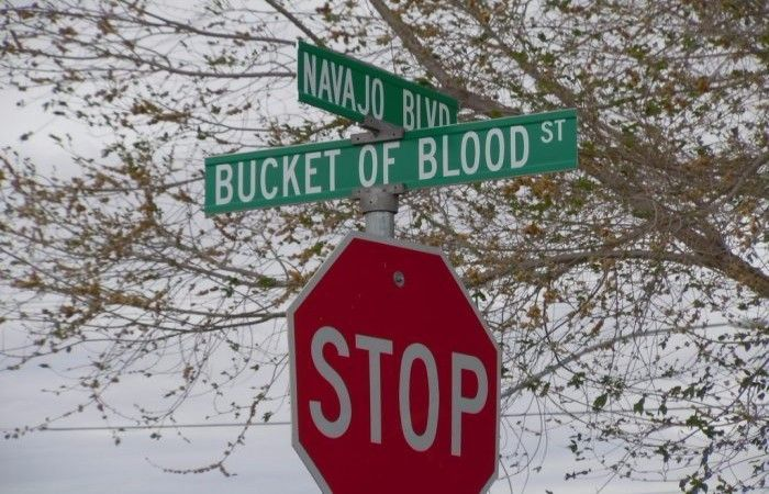 Bucket Of Blood Street - A Story Of A Frightening Name