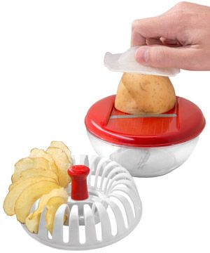 Healthy Potato Chip Maker -this thing actually works