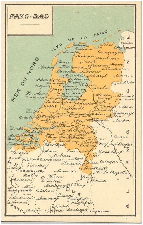 Plattegrond van Nederland Auteur(s) Ringuel, G. (uitgever);