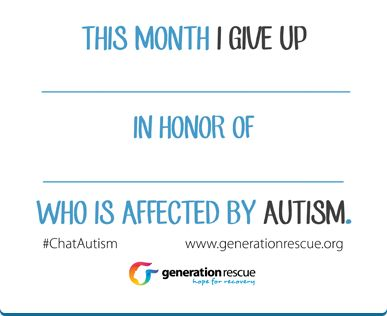 Ways to Support » Generation Rescue | Jenny McCarthy's Autism Organization
