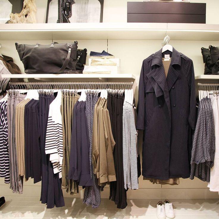 Shop wardrobe staples in store this weekend. #seedheritage #stores