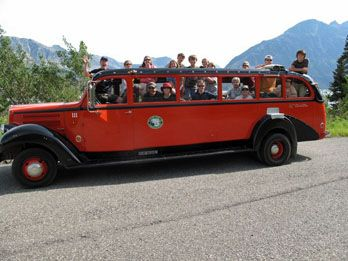 Best things to do at Glacier National Park - Red Bus Tour in Glacier National Park