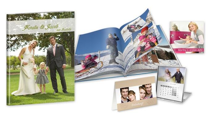 CEWE FOTOBUCH, Grußkarten, Kalender und Wanddeko mit Ihren Bilder gestalten!