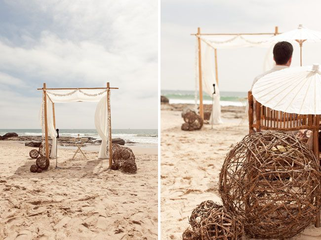 Beach Wedding Arch Ideas: 9 Curated Rustic Beach Wedding Decorations Ideas By