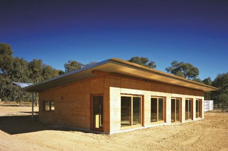 Steffen Welsch Architects' Rammed Earth House produces all its own energy and captures all its own water in Australia | Inhabitat - Sustainable Design Innovation, Eco Architecture, Green Building
