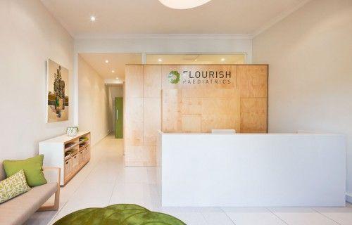 a9c93  pediatric clinic interior idea reception waiting space1 500x320 Paediatrics Clinic Interior Design Ideas