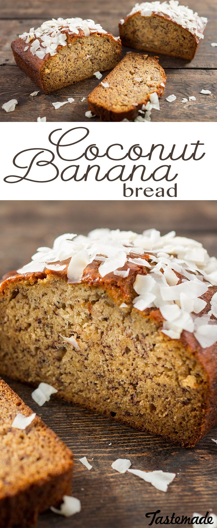 Put your overripe bananas to tasty use by baking them into this tropical bread.
