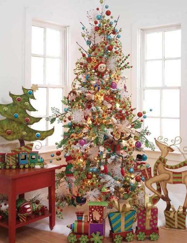RAZ 2011 Christmas Trees whimsy tree