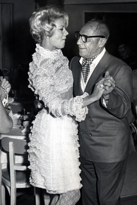 Then Barbara Marx and husband Zeppo Marx