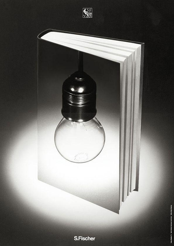 S. Fischer Verlag poster by Gunter Rambow