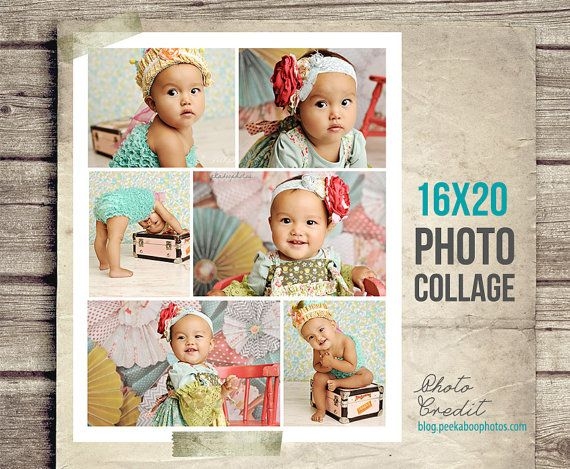 Baby Photo Collage  Baby Picture Collage  by StudioTwentyNine, $8.00
