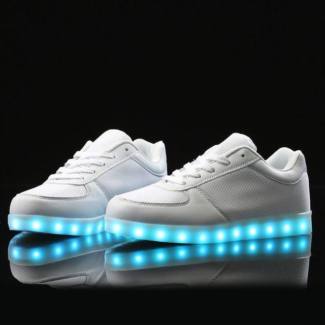 LED Shoes men tenis masculino esportivo Fashion Casual shoes Glowing Colorful flashing luminous light up shoes