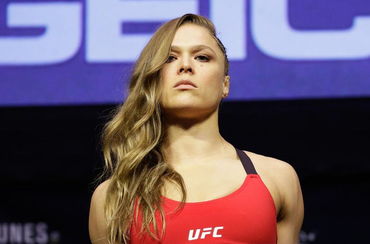 Without her aura of invincibility, it's hard to tell whether Rousey really wants to fight tonight, or if she merely feels as if she has to take it.