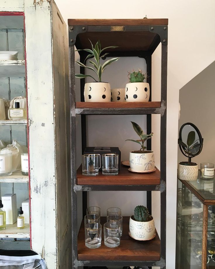 Our IND112 Industrial Bookcase being put to good use in a client's store! Great for shelving! Check out our website to get your own!