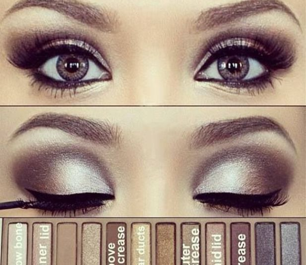 Eye Look with Naked 1 Palette @Luuux