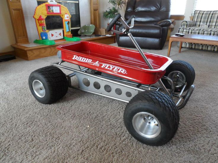 Picked up a wagon kart off of clist