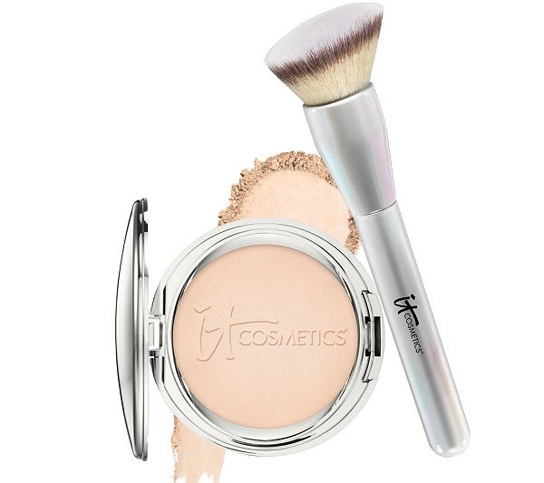 What is it: IT Cosmetics Celebration Foundation SPF 50+ is your powder foundation that gives you flawless full coverage in 30 seconds. QVC.com