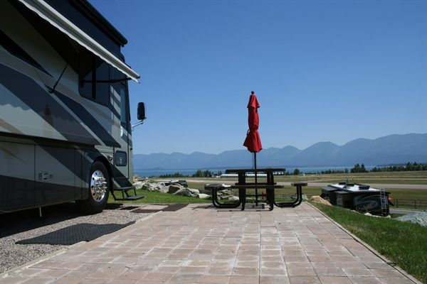 Polson Motorcoach And Rv Resort Check Out Those Views