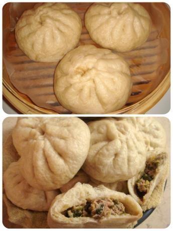 Baozi Chinese dumpling recipe