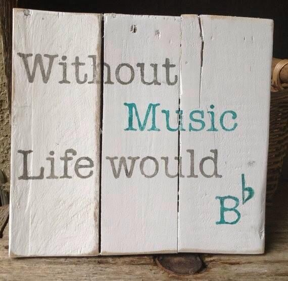 Without music....