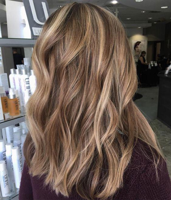 48 Balayage Ombre Hair Colours For 2019 Koees Weblog #haircolorbalayage