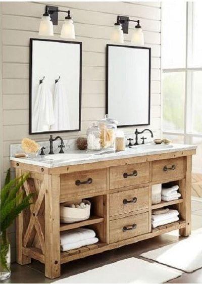 15+ wunderschöne farbige Badezimmer Eitelkeit Ideen, die perfekt für Ihr Badezimmer
