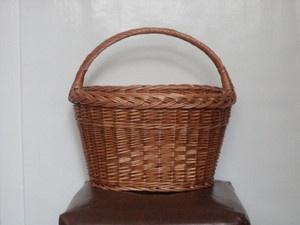 koszyk wiklinowy idealny na zakupy