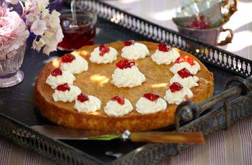 Højer riskage  En klassiker fra det sønderjyske kaffebord, der laves på risengrød.