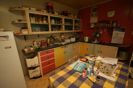 OK, so the kitchen is going. Anyone want to buy a retro kitchen?
