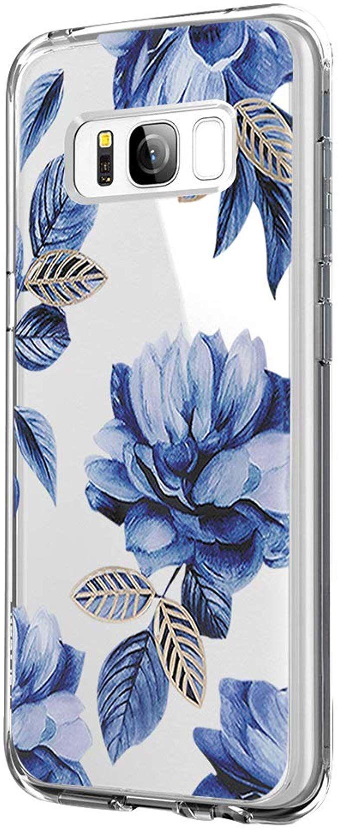 Coque Samsung Galaxy S8 Étui Silicone Flexible Transparent Motif ...